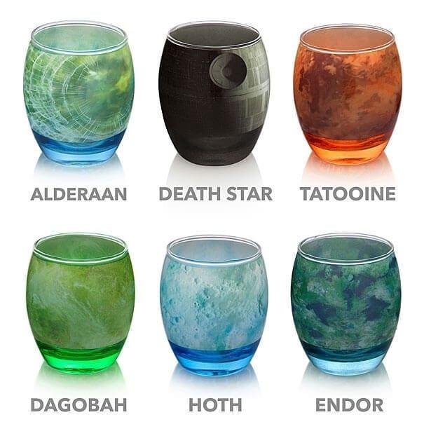 star wars glassware freeyork 1