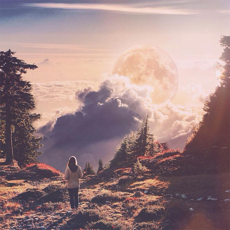 surreal dreamlike landscape photo manipulations jati putra pratama 1