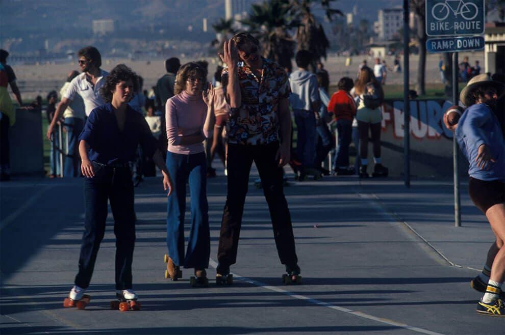 venice beach roller skaters 1