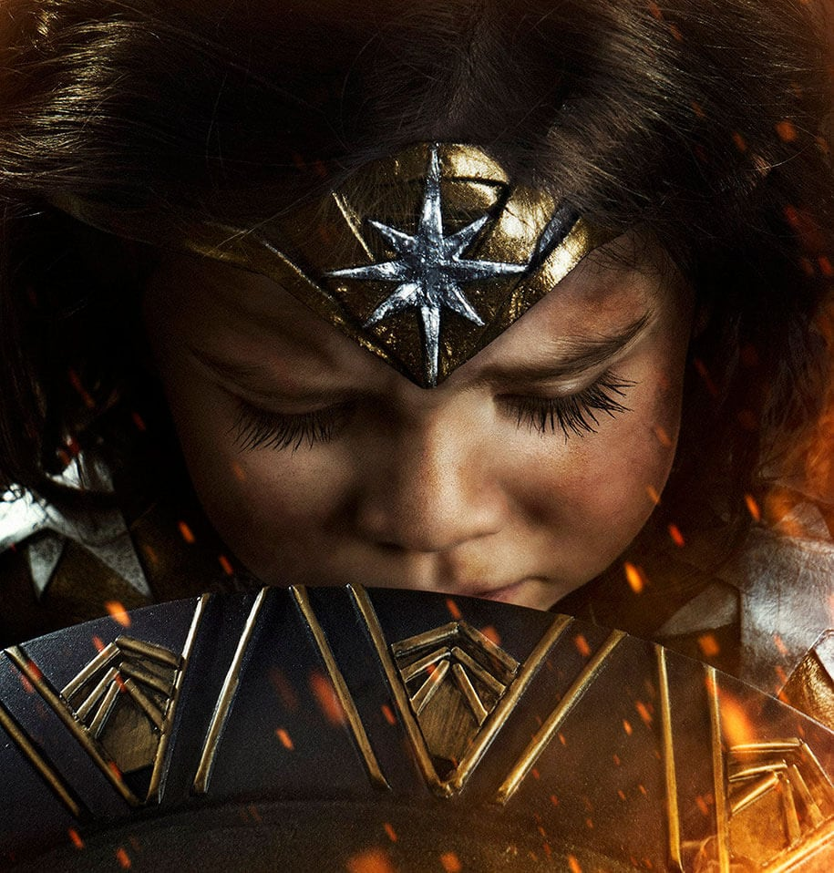 3 year old wonder woman josh rossi 3