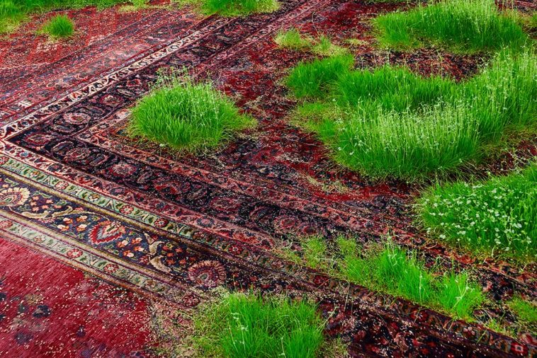 patchwork of persian rugs 9
