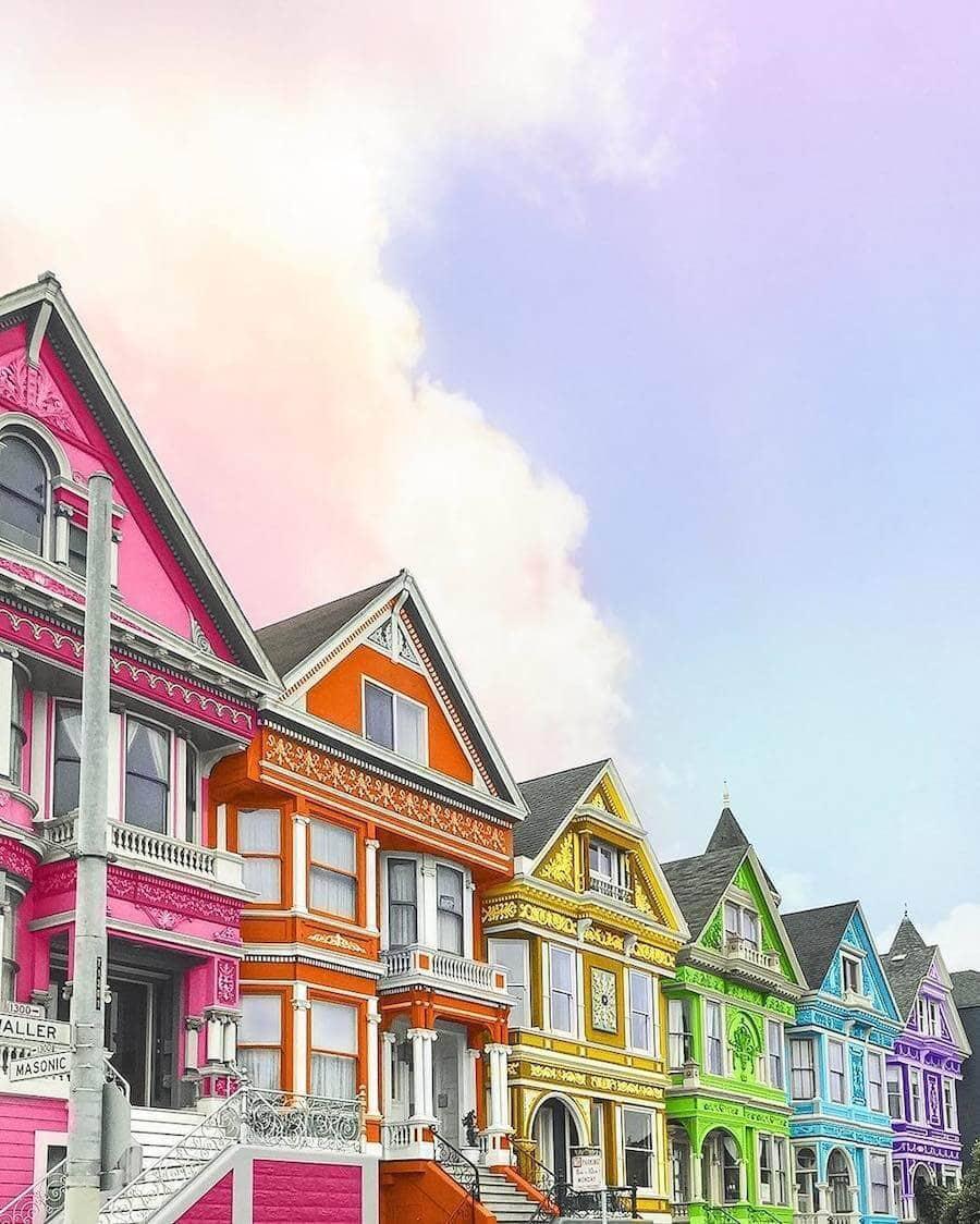 Street Photographer Ramzy: Graphic Designer Reimagines Buildings With Vivid Colors