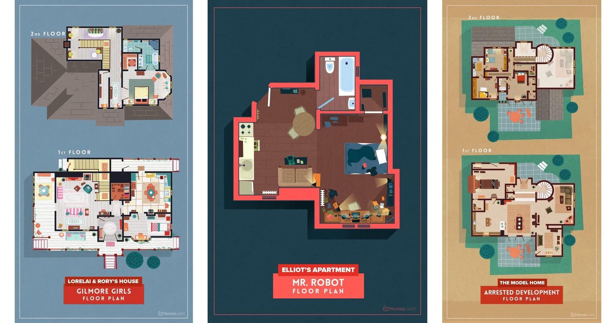 home floor plans illustrations 3