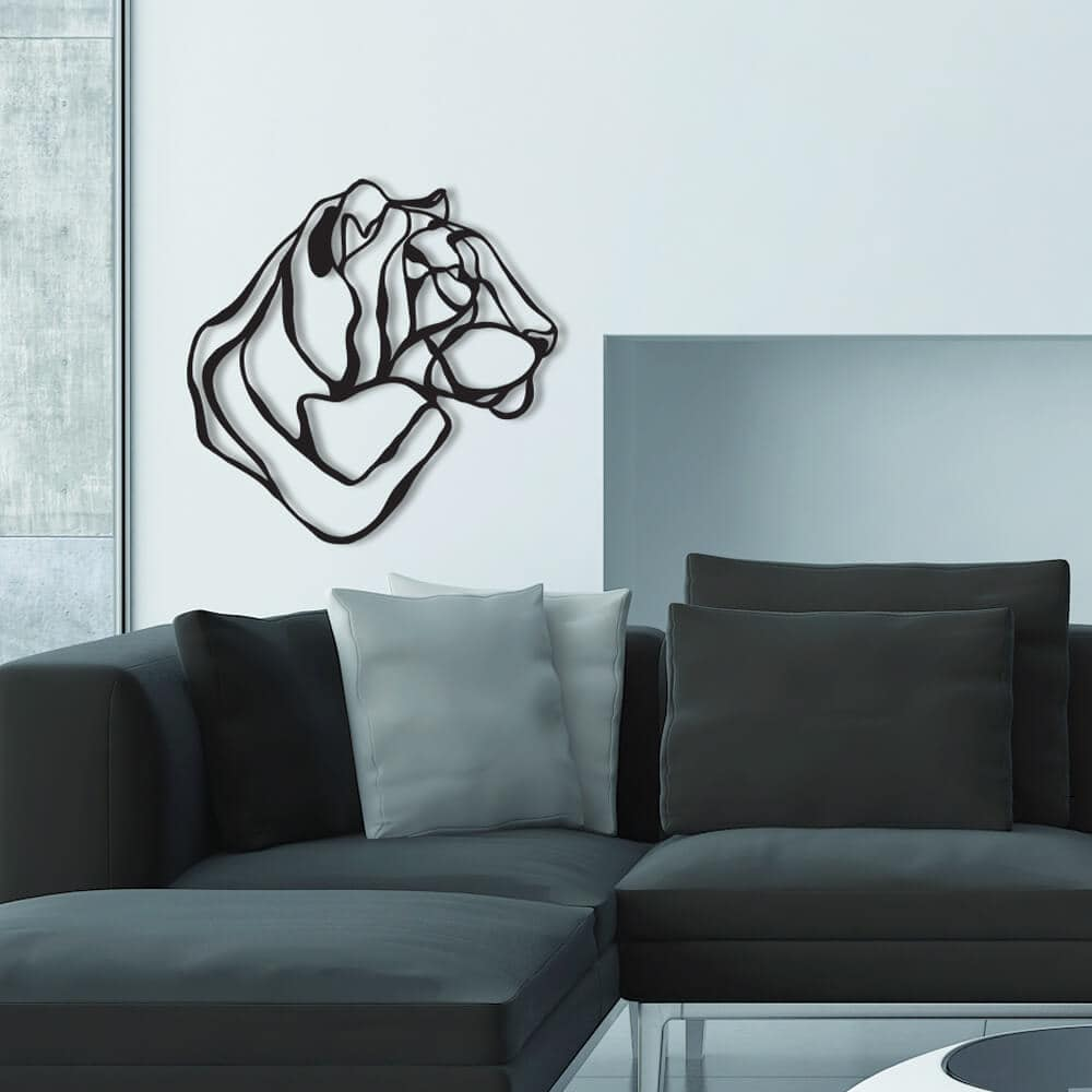 3d animal wall signs 1