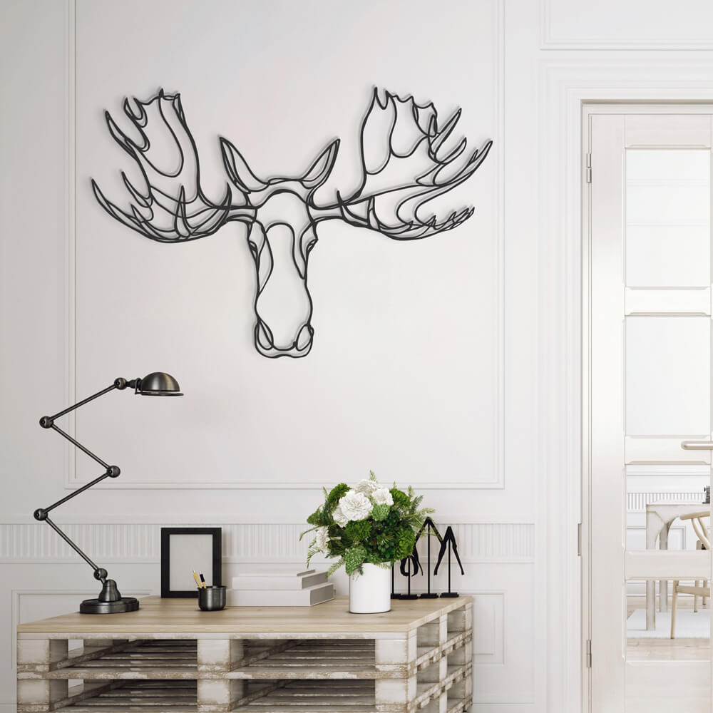 3d animal wall signs 10