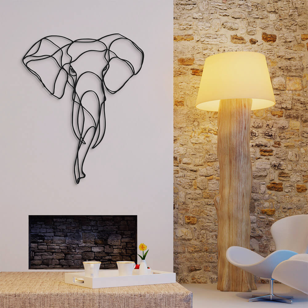 3d animal wall signs 13