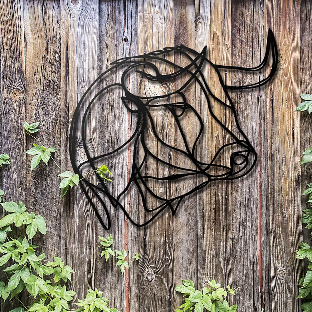 3d animal wall signs 9