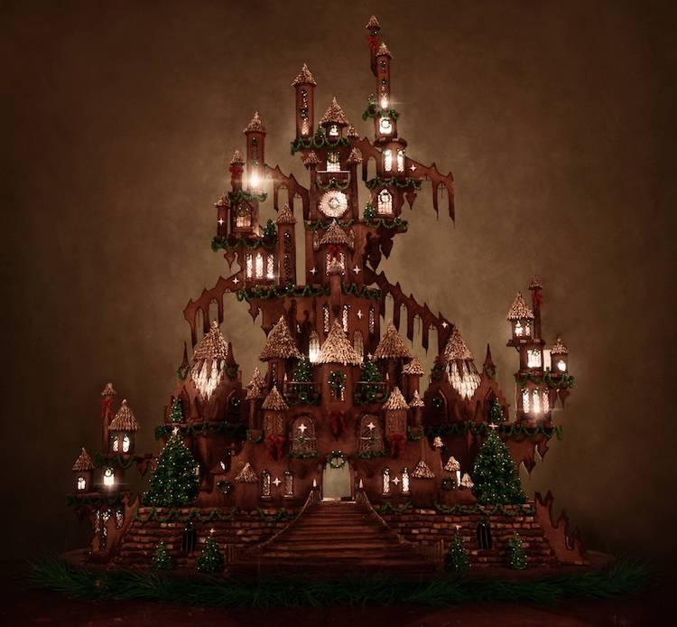 christine mcconnell gingerbread castle 5 min
