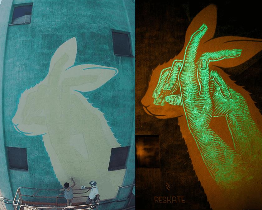 murals by reskate