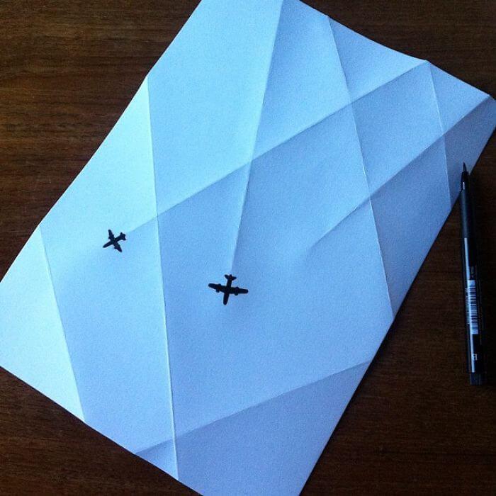 3d paper art huskmitnavn 15