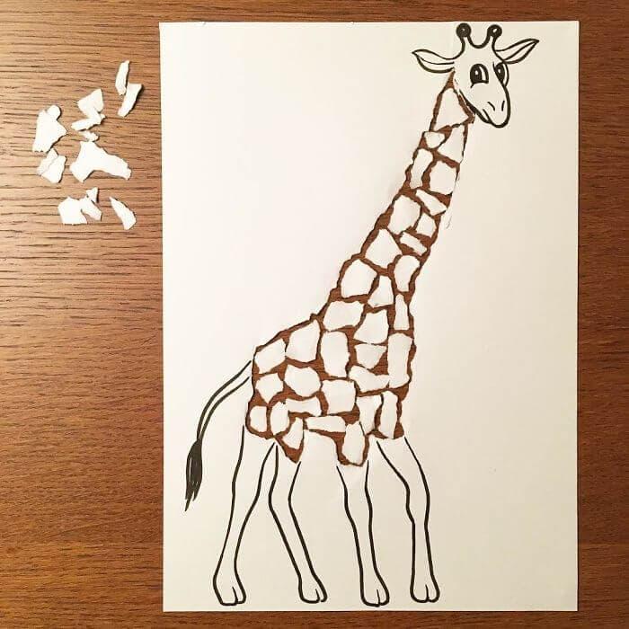 3d paper art huskmitnavn 4