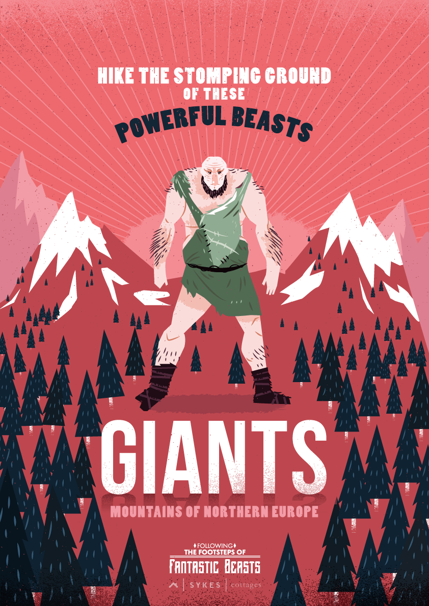 Fantastic Beasts Travel Posters Giants