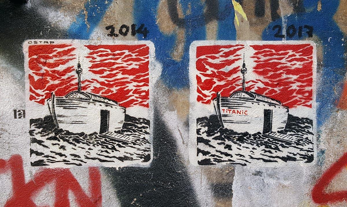 ark berlin stencil street art ostap2017