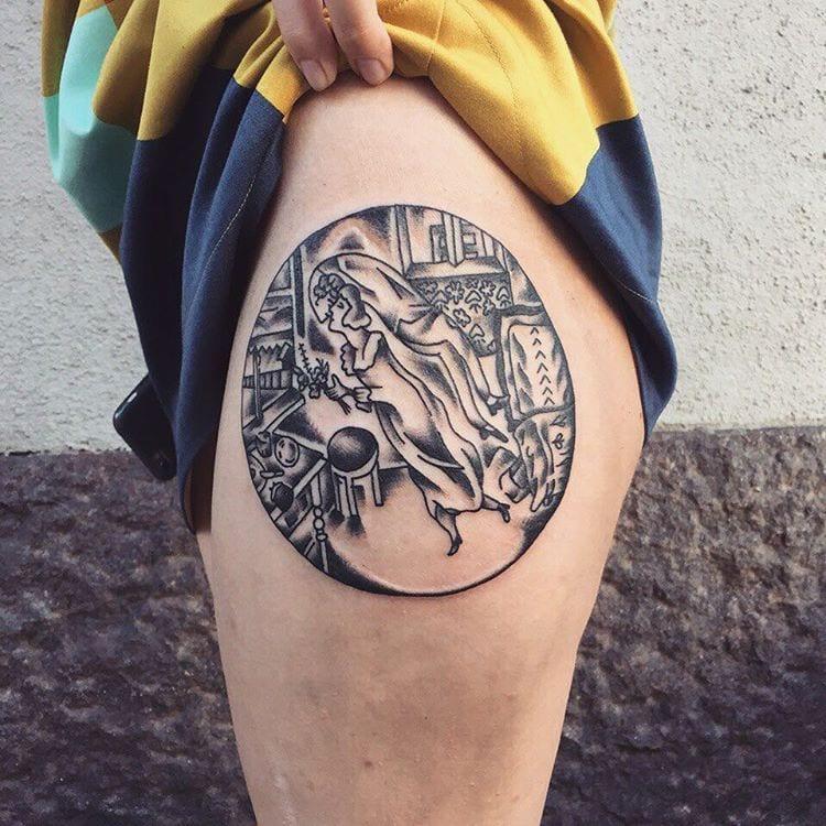 art history tattoos alinavstrkv 27