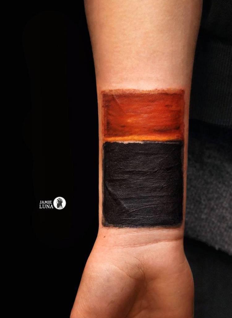 art history tattoos jamie luna 5