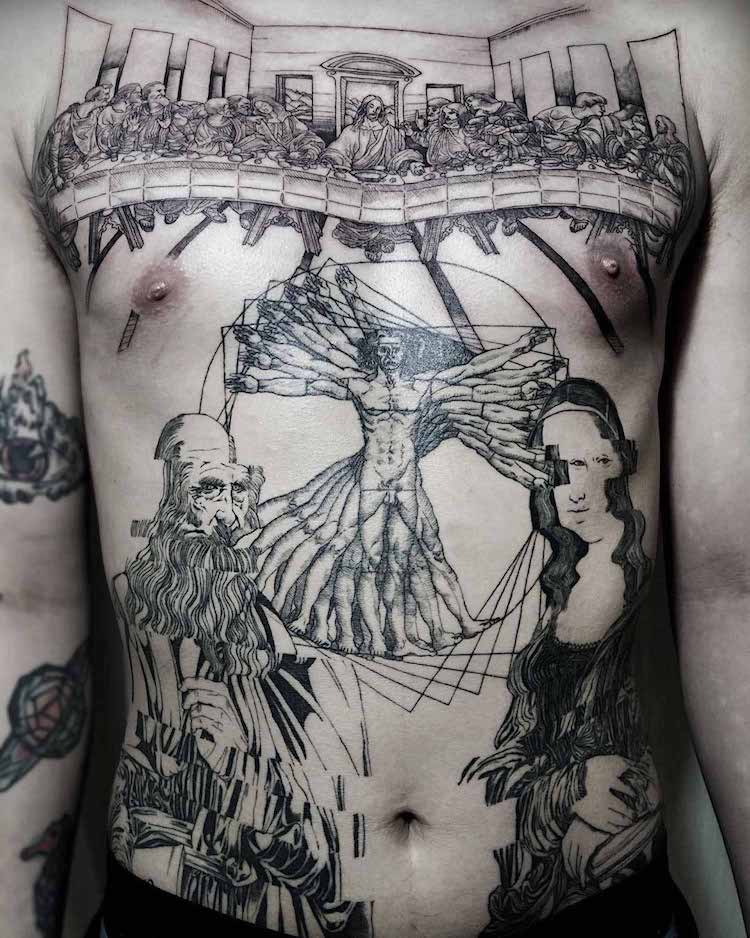 art history tattoos oozy 13