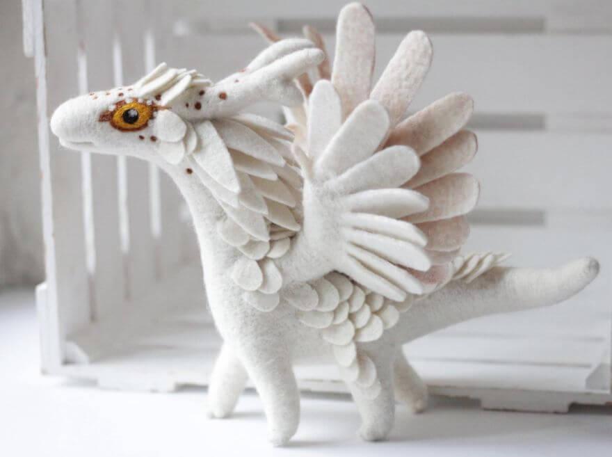 felt dragons alena bobrova 4