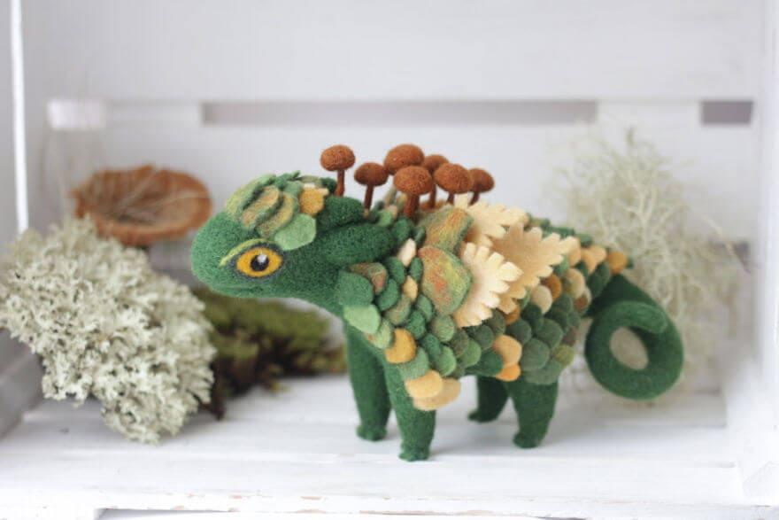 felt dragons alena bobrova 5