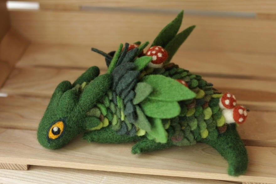 felt dragons alena bobrova 8