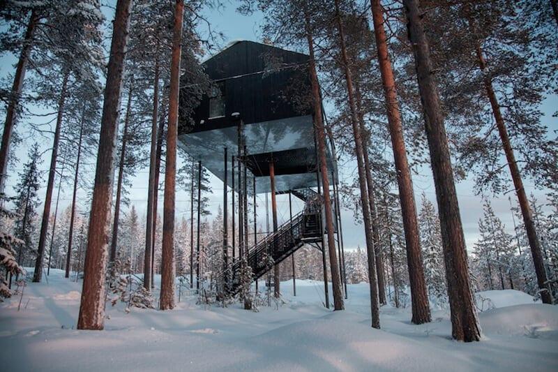 snonettas swedish treetop cabin 1