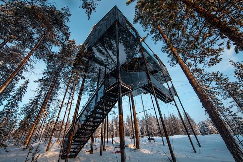 snonettas swedish treetop cabin 3