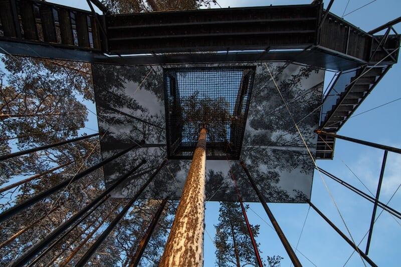 snonettas swedish treetop cabin 4