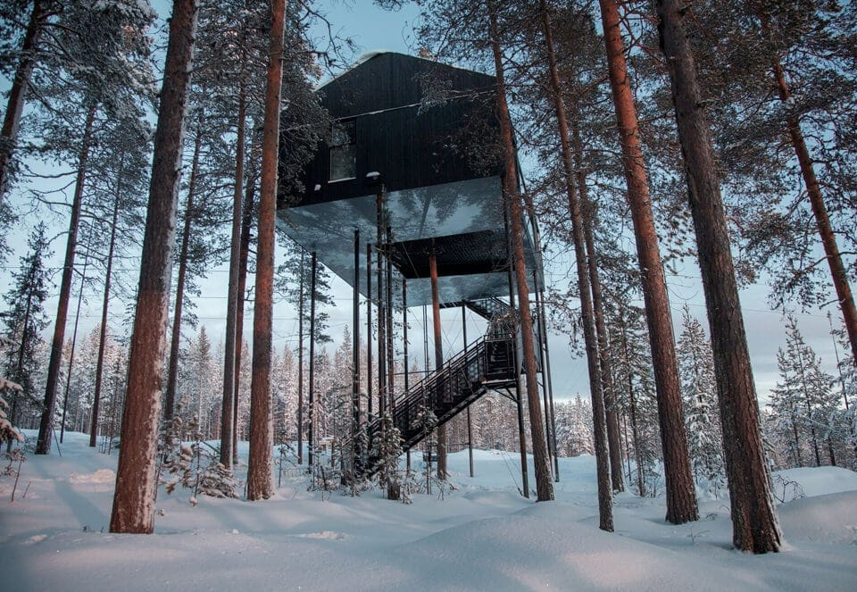 snonettas swedish treetop cabin 7