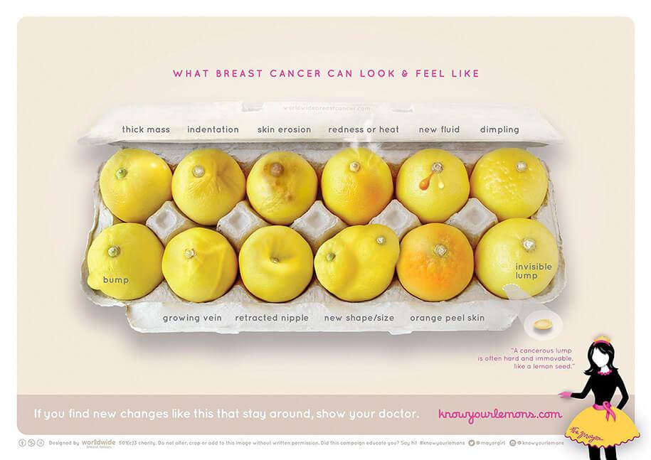 what breast cancer look feel like lemons 1s