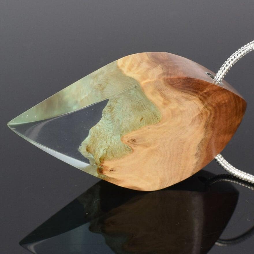 wood resin jewellery 12