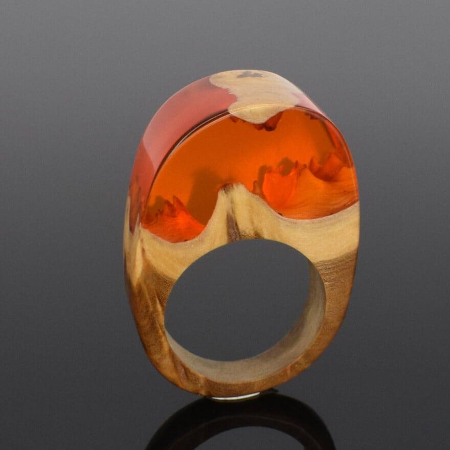 wood resin jewellery 13