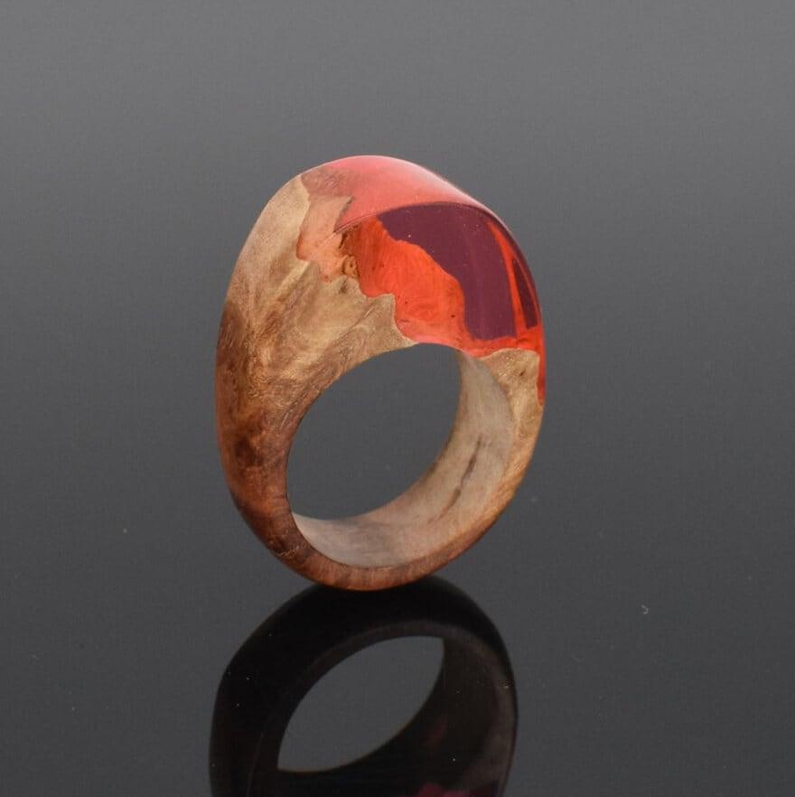 wood resin jewellery 16