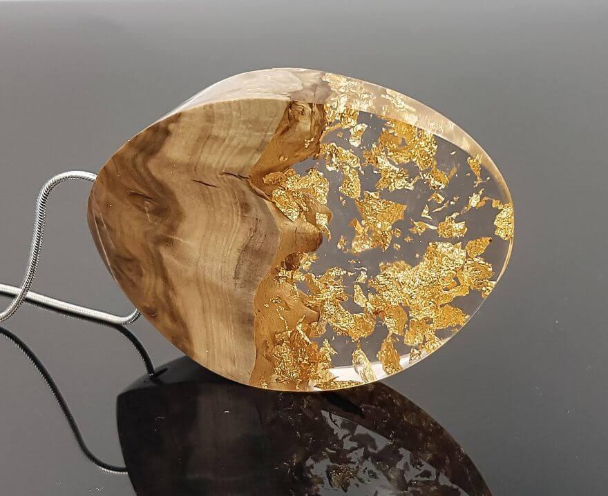 wood resin jewellery 17