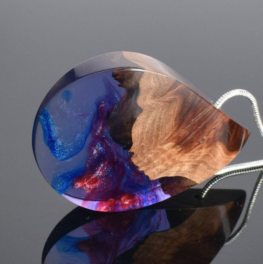 wood resin jewellery 3