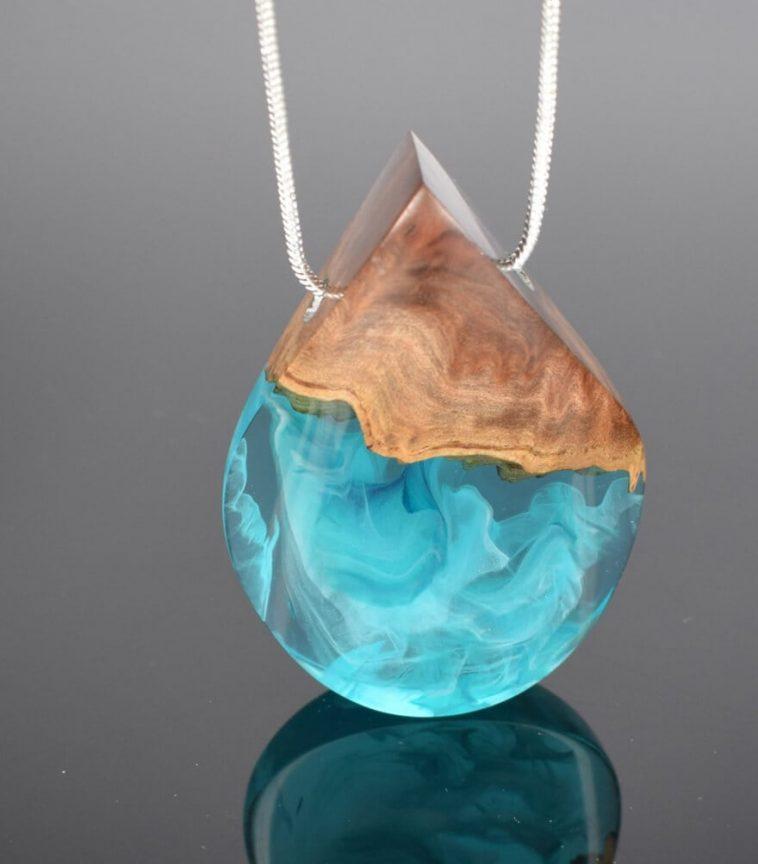wood resin jewellery 4