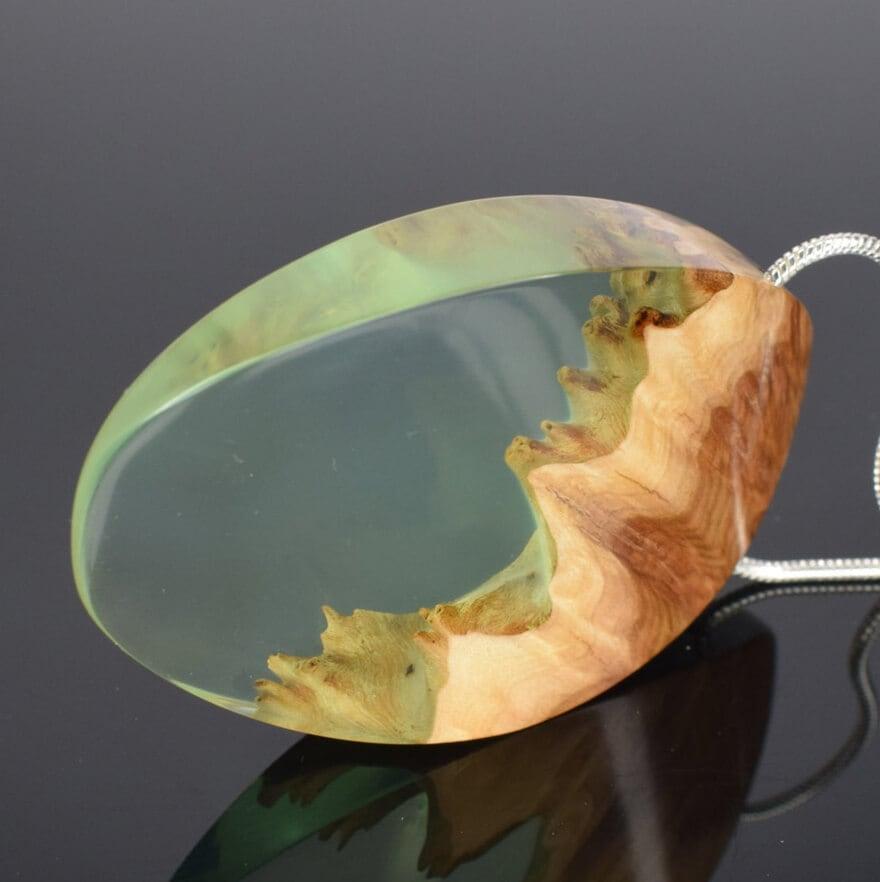 wood resin jewellery 7