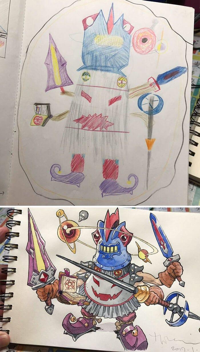anime characters thomas romain 2
