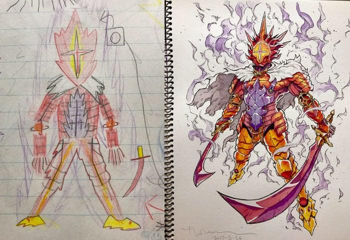 anime characters thomas romain 5
