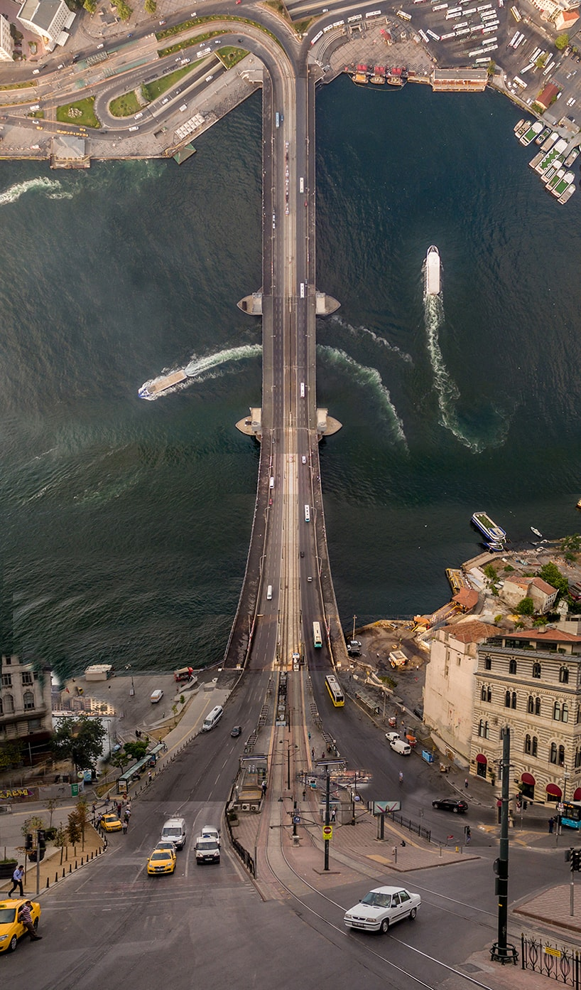aydin buyuktas galata bridge