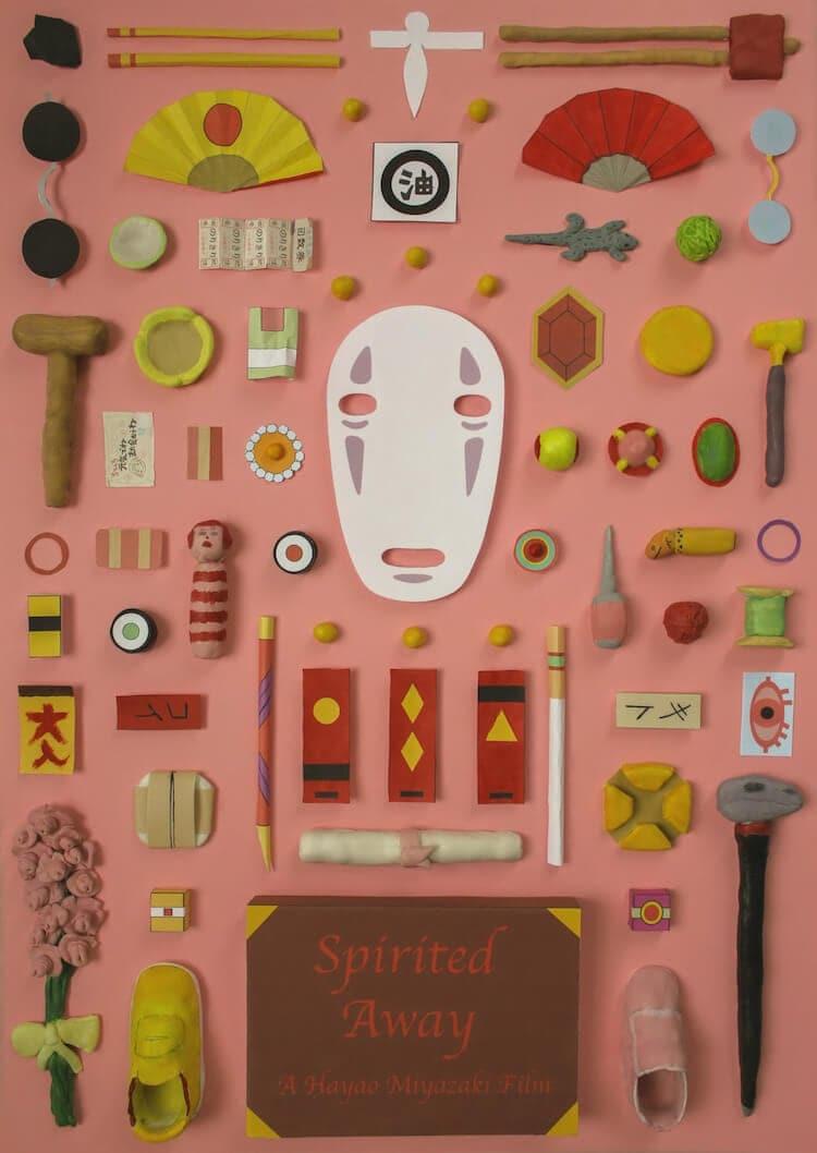 hayao miyazaki movie posters 2