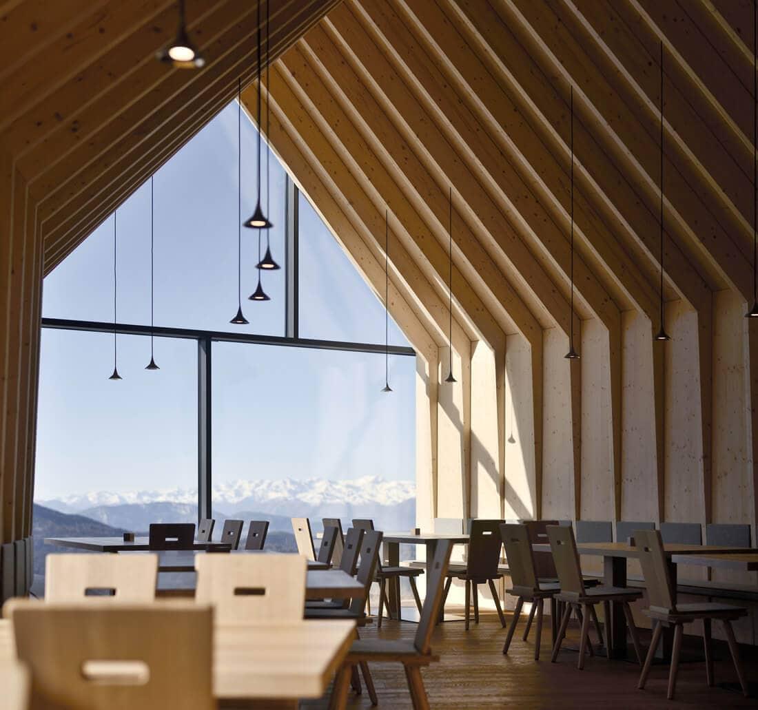 modern mountain restaurant italian alps 12