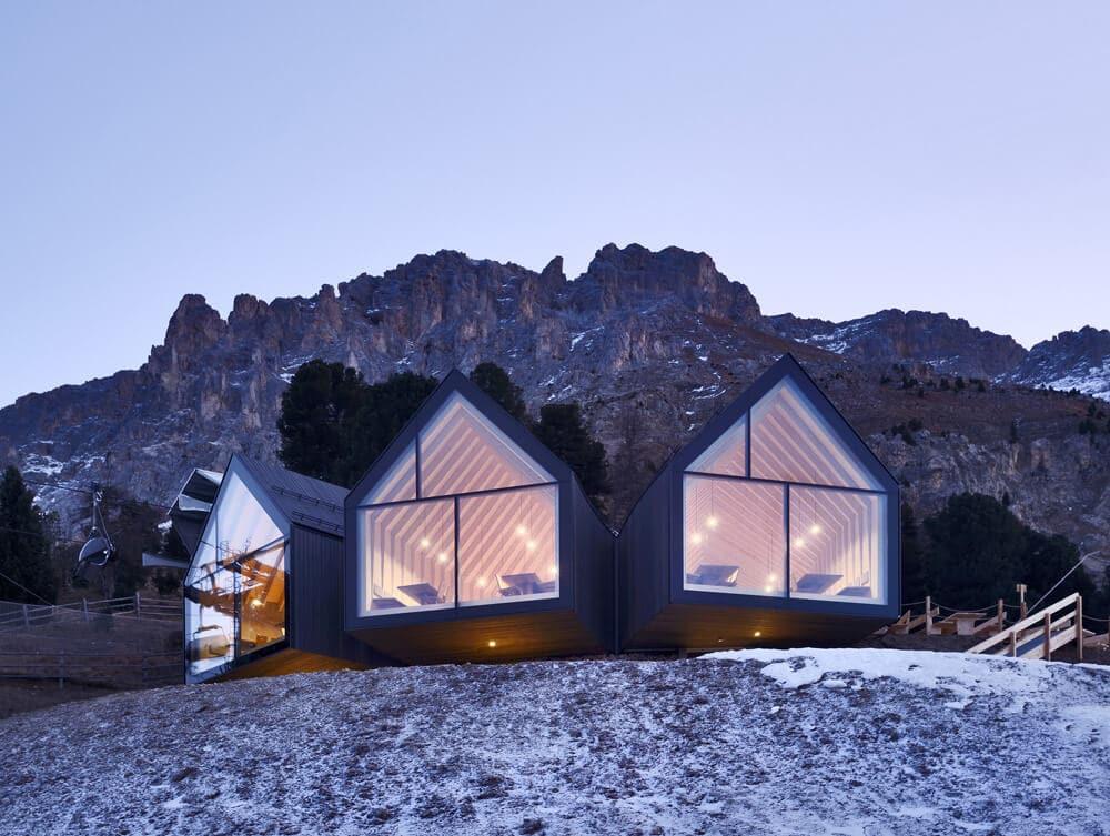 modern mountain restaurant italian alps 2