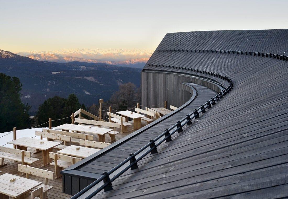 modern mountain restaurant italian alps 6