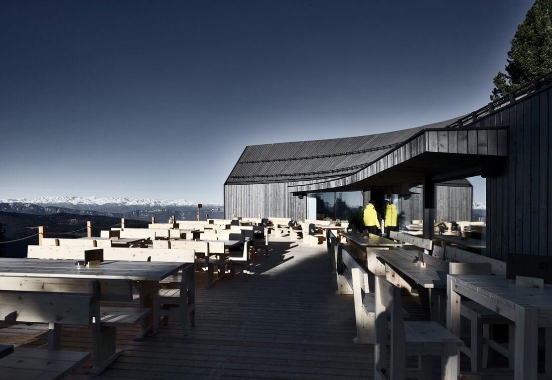 modern mountain restaurant italian alps 7