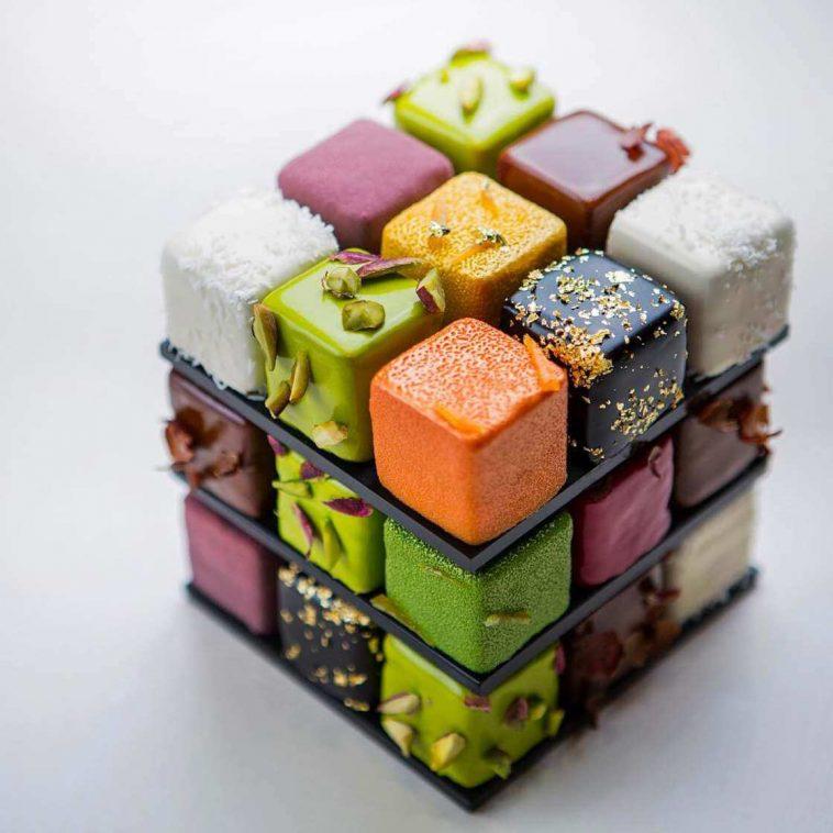 rubiks cake cedric grolet 16