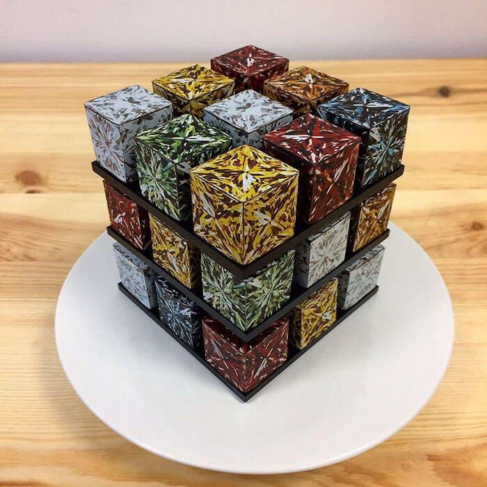 rubiks cube cake pastry cedric grolet 20