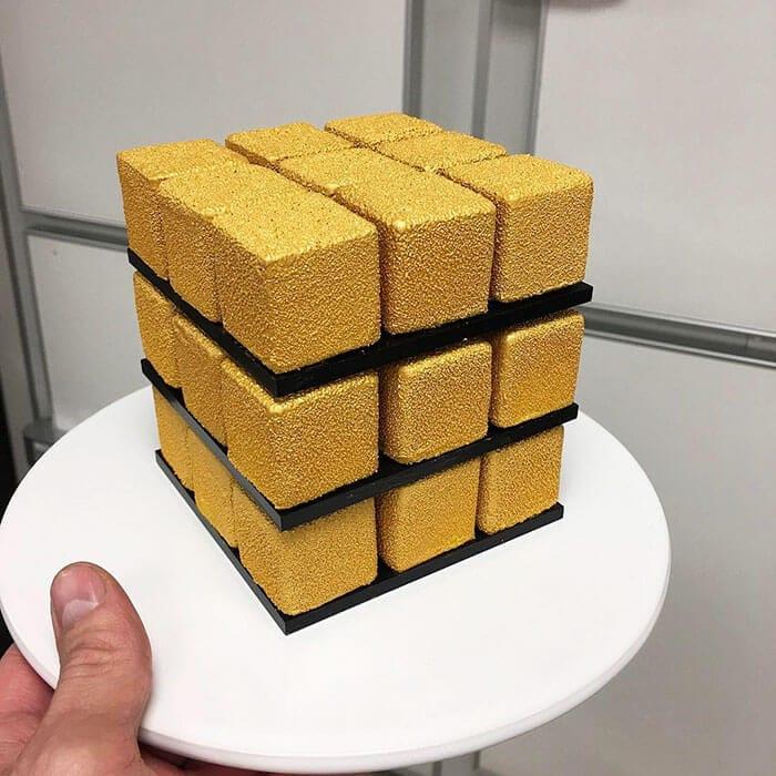 rubiks cube cake pastry cedric grolet 21