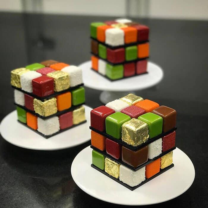 rubiks cube cake pastry cedric grolet 22