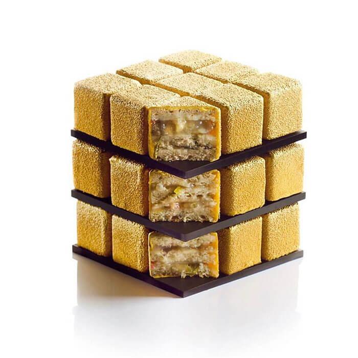 rubiks cube cake pastry cedric grolet 25