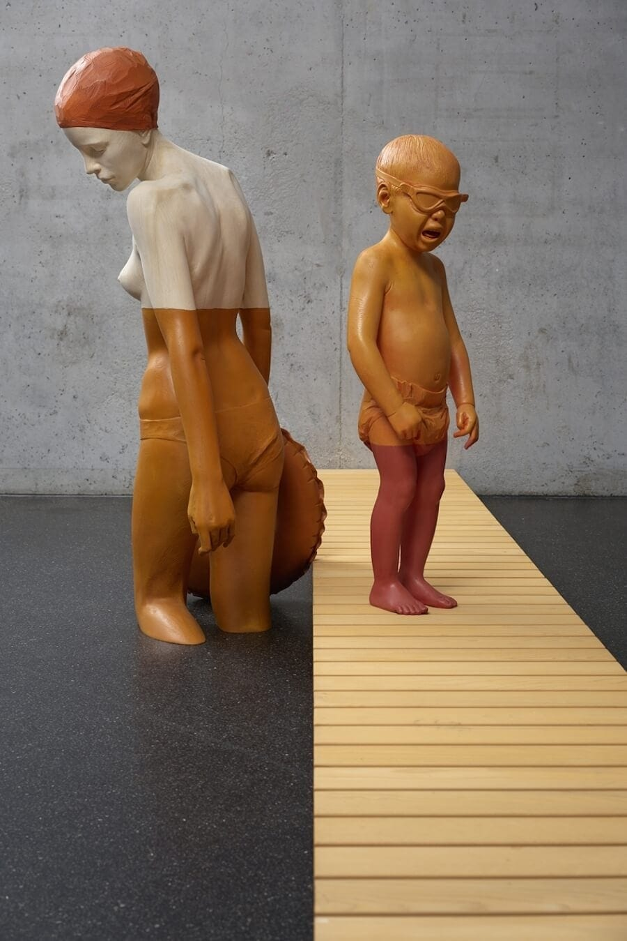 wood sculptures that highlight environmental decay by willy vergine 3