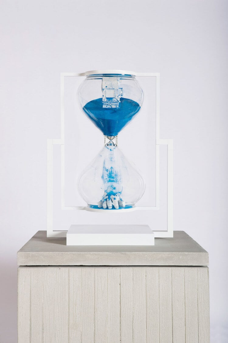 daniel arsham hourglass 12